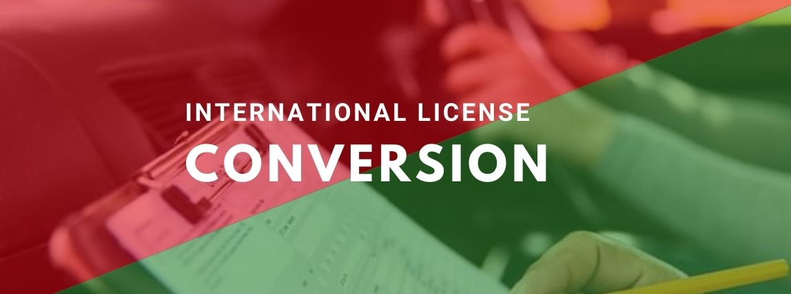 international license conversion